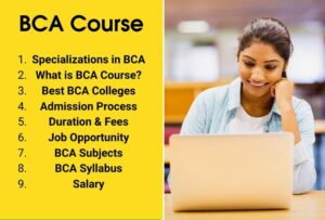 BCA Course in India